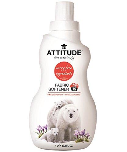 Attitude Fabric Softener Loads Grapefruit product image