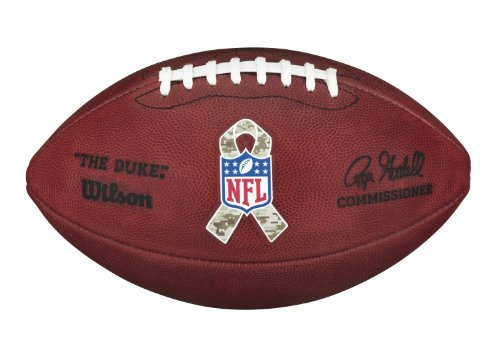 Wilson ''The Duke'' NFL Football - Salute to Service by Wilson