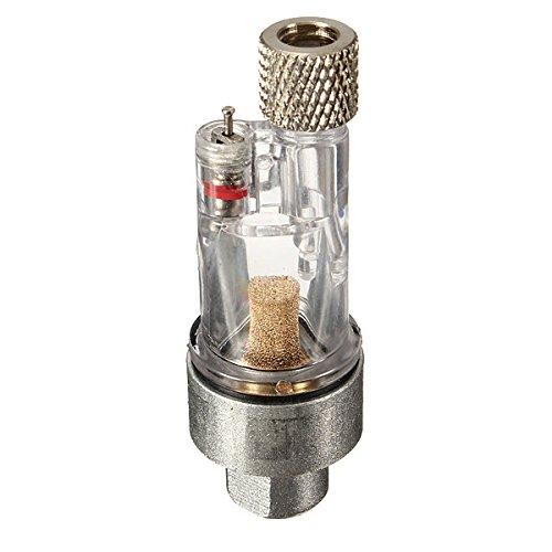 dipshop 1/8inch Royalmax Airbrush Mini Air Filter Moisture Water Trap Fittings Hose Pai