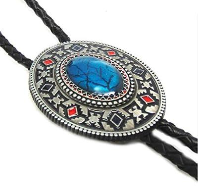 Native American Indian Art Bolo Tie - 102