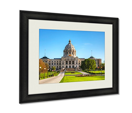 Ashley Framed Prints Minneapolis Minnesotcapitol Building In St Paul Mn Art photography interior design artwork framed office 24x30 - Mn Downtown Minneapolis
