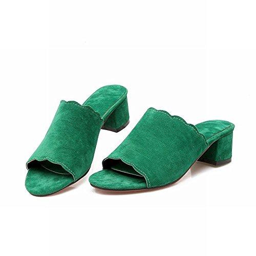Charm Sandali Donna Sandali Con Tacco Medio Verde