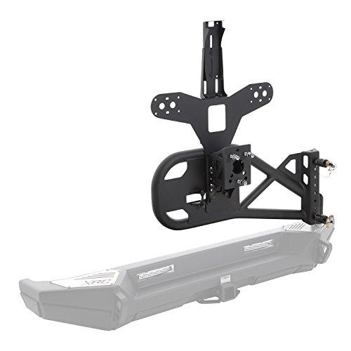 (Smittybilt 76857LT Gen2 Bolt-On Tire Carrier Xrc Gen2 Lite Texture 76857Lt, 1 Pack)