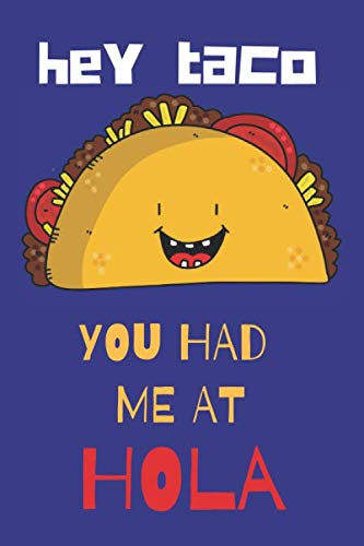 TACO LOVERS BLANK LINED NOTEBOOK JOURNAL: A daily diary, composition or log book, gift idea for people who love eating and preparing tacos!! by Neaterstuff Publishing