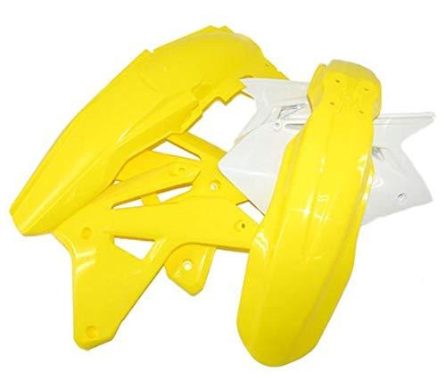 UFO Plastics - SUKIT405K-999 - Complete Body Kit, OEM Yellow - Restyled (Rm 85 Plastics)