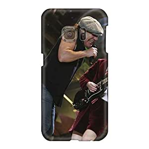 Samsung Galaxy S6 KKN18915YRRV Support Personal Customs High-definition Ac Dc Band Pictures Great Hard Phone Cover -TimeaJoyce