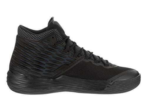 Jordan Nike Mens Melo M13 Basket Sko Svart / Metalliskt Guld