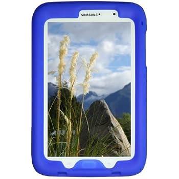 Bobj Rugged Case for Samsung Galaxy Note 8 Tablet, Model GT-N5100, GT-N5110, GT-N5120 - BobjGear Custom Fit - Patented Venting - Sound Amplification - BobjBounces Kid Friendly (Batfish Blue)