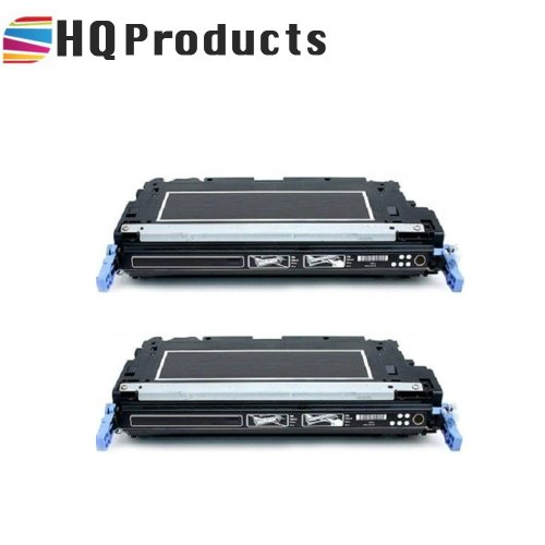 HQ Products Remanufactured Replacement HP 501A (Q6470A) 2Pk Black Toner Cartridge for use in HP Color LaserJer 3600, 3800, CP 3505 Series Printers. Cp Series Printers