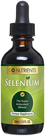 Go Nutrients Selenium 200mcg Supplement product image