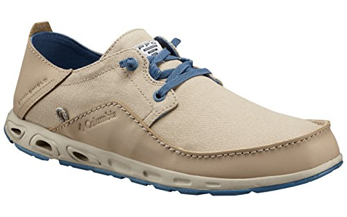 Columbia Men's Bahama Vent Relaxed PFG Casual Boat Shoes, Ancient Fossil/Steel, 13 M US from Columbia