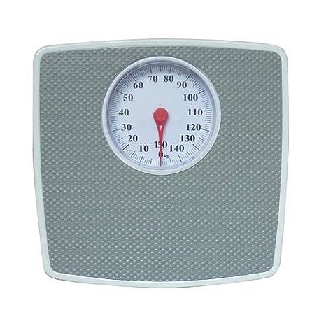 Adler Báscula de baño mecánica, sin Pilas, Gris, 32.7 x 5.9 x 30.5 cm: Amazon.es: Salud y cuidado personal