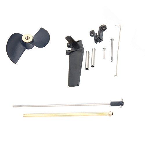 NiGHT LiONS TECH(TM) Feilun FT009 Remote Control RC Boat Spare Parts set Rudder Tail Propeller Propeller Shaft Transmission Component