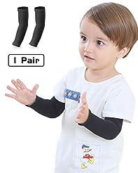 Newbyinn Arm Sleeves for Kids 1 Pair/ 3 ...