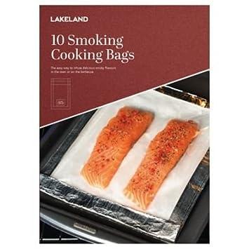 10 x Lakeland Smokie bolsas de cocción para ahumar carne o ...