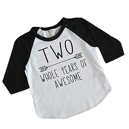 Amazon.com: Second Birthday Boy Shirt, 2nd Birthday Shirt for Boys (2T): Baby