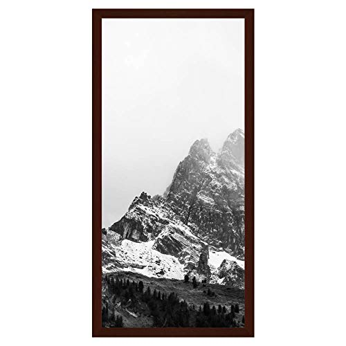 Frame It Easy 18 x 39 Bordeaux Wood Picture - Bordeaux Frame
