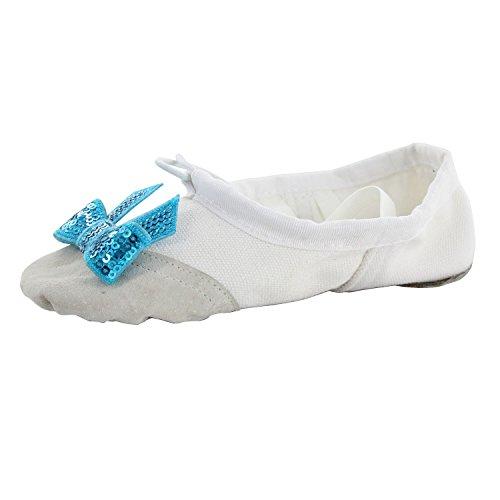 Pratica Di Balletto Yoga Femminile Danza Scarpe Bianche