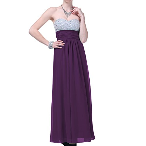 UPC 737925606849, Faship Womens Crystal Beading Full Length Evening Gown Ball Prom Formal Dress