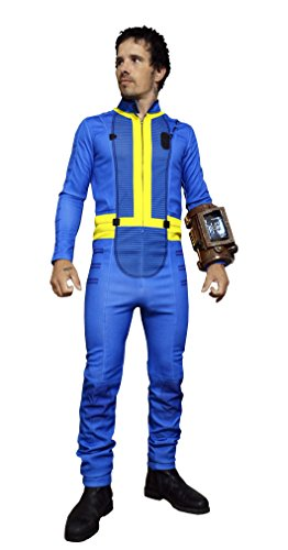 DAZCOS Premium US Size Adult Blue Jumpsuit Cosplay Costume (Men Large) ()