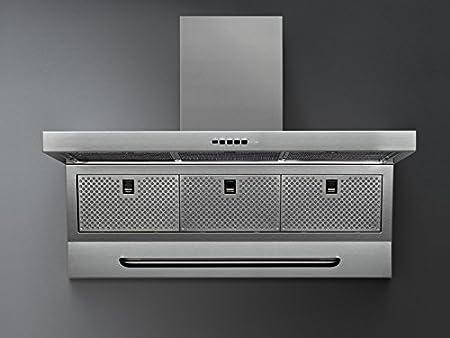 Falmec Design Campana extractora Mural Master-Mural 120cm: Amazon.es: Hogar