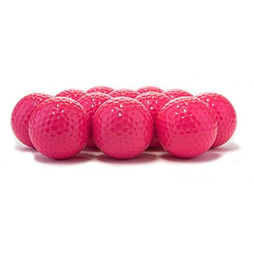 Blank Colored Golf Balls - Pink