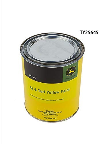 John Deere Original Equipment Yellow Paint #TY25645