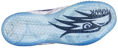 Scarpette Falco Blanc Coperta Salming Signore Marine Bleu wTqxRt4tf