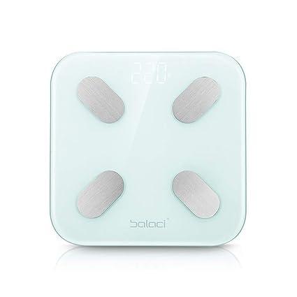 Báscula De Grasa Corporal Bluetooth, Báscula De Peso Corporal Digital Inalámbrica Inteligente Báscula De Fitness