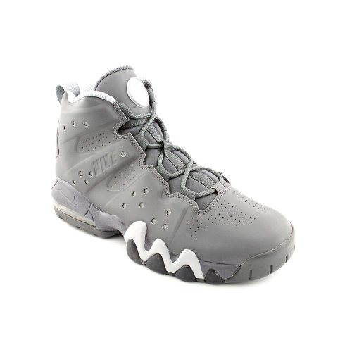 NIKE Youth Air Max Barkley Basketball Shoes-Dark Grey-6.5 by NIKE