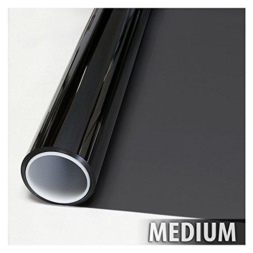 BDF NA35 Window Film Sun Control and Heat Rejection N35, Black (Medium) - 36in X 24ft by Buydecorativefilm (Image #2)