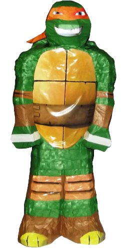 ninja turtle birthday pinata - 8