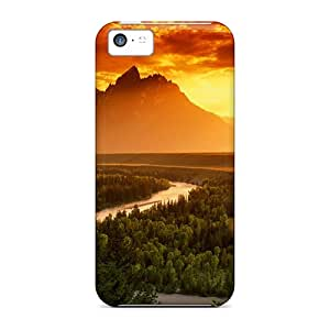 Iphone 5c Case Cover Snake River Case - Eco-friendly Packaging