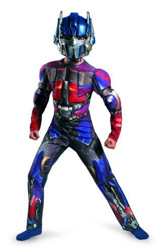 Costumes Optimus Prime Muscle (Optimus Prime Classic Muscle Costume - Large)