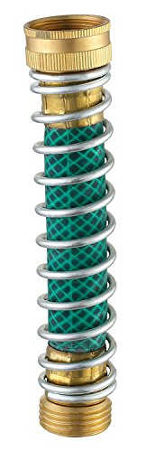 Avalon Bay Garden Hose Kink Protector with Coil Spring Fits 3/4