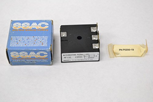 Ssac State Timer Solid (NEW SSAC AF132 2393X SOLID STATE ALTERNATING FLASHER TIMER B275593)