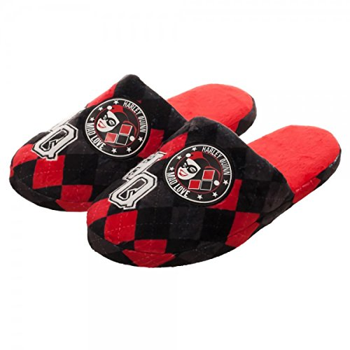 DC Comics Harley Quinn Slippers | S from Bioworld