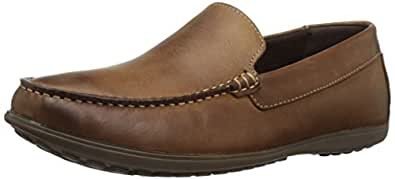 Rockport Men's Bayley Venetian Ii Slip-on Loafer, Camel, 7.5 M US