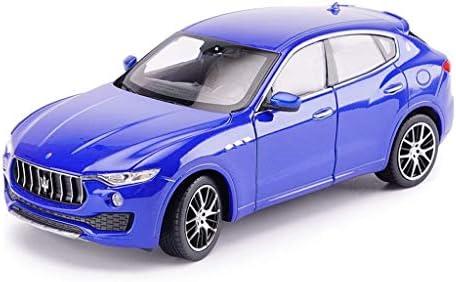 YN モデルカー 1:24ダイキャストメタルの玩具モデル/ Maserati Levanteオフロードカー/レーシングカー/引き戻す教育コレクション装飾品ギフト ミニカー