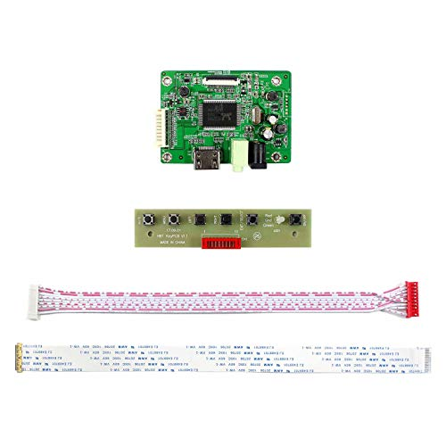 HDMI Input LCD Controller Board For M116NWR1 M133NWN1 M140NWR4 11.6'' 13.3'' 14'' 15.6'' 1366x768 30Pins EDP LCD Panel by LCDBOARD (Image #1)