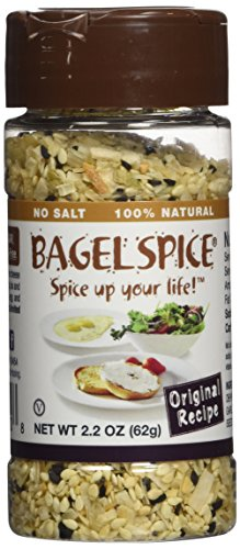 Bagel Spice - Original Recipe - Salt Free Seasoning - Bagels Seed