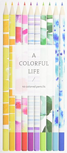 A Colorful Life: 10 Colored Pencils