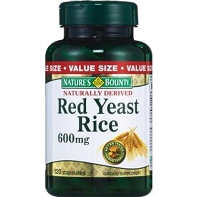 Nature's Bounty Red Yeast Rice, 600 mg
