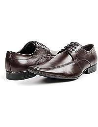 Sapato Social Bigioni Couro Masculino Bico Fino Conforto