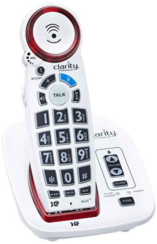 Clarity Dect 6 Amplified Cordless Big Button Speakerphone with Talking Caller Id Clarity-xlc2