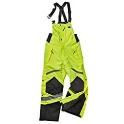 Insulated Thermal Bib Overalls, High Vis...