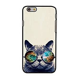 "For iPhone 6 Case, Fashion Cat and Space Pattern Protective Hard Phone Cover Skin Case For iPhone 6 (4.7"") + Screen Protector"