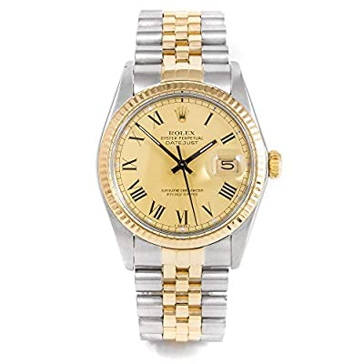 Rolex Datejust Automatic-self-Wind Male Watch 16013 (Certified Pre-Owned) by Rolex