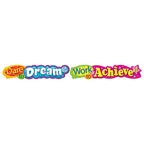 TREND enterprises, Inc. Dare to dream it... Quotable Expressions Banner (Classroom Banners)