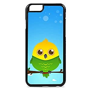 Case Fun Case Fun White Cockatoo by DevilleART Snap-on Hard Back Case Cover for Apple iPhone 6 4.7 inch